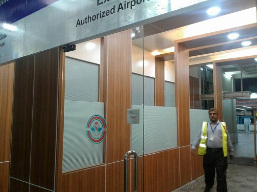 Aros architecture construction work at Hazrat Shajalal International Airport Arrival Hall Gate Number 21 (2)