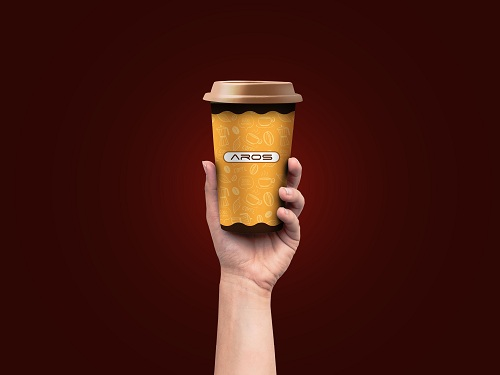 Aros won Innovative & Exclusive Coffee Cup's Branding  for HSIA