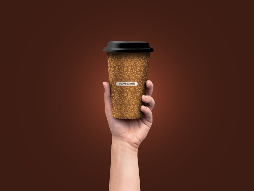 Aros won Innovative & Exclusive Coffee Cup's Branding  for HSIA (2)