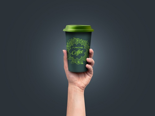 Aros won Innovative & Exclusive Coffee Cup's Branding  for HSIA (3)