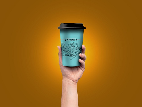 aros coffee 2Aros won Innovative & Exclusive Coffee Cup's Branding  for HSIA